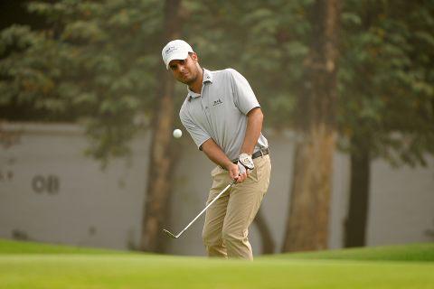 A brilliant 65 helped Shubhankar Sharma finish third in the Bashundhara Bangladesh Open