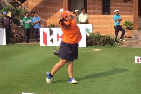 Gursimar Badwal shot 68 in the final round to win her maiden professional title