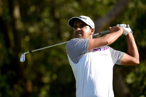 Khalin Joshi is looking to do one better and win the title at the Kurmitola Golf Club
