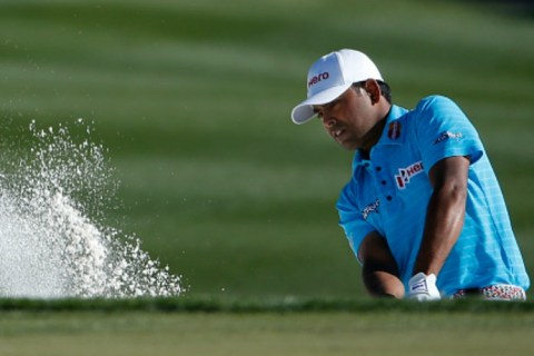 Anirban Lahiri closed out his role at Dell Match Play with a strong showing against Fabian Gomez