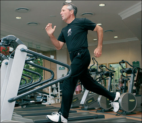 Golf Today image - Gary Player is incredibly fit for an eighty year old man