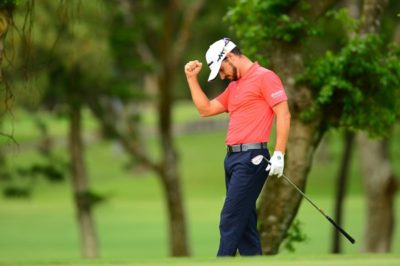 Javi Colomo share round 1 lead at Yeangder TPC - Image source Asian Tour