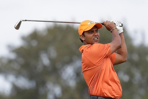 SSP Chawrasia produced a brilliant round of golf to forge ahead in Rio. Despite a late fumble he managed to finish at two under par going into the final round.