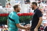 Dustin Johnson and Kevin Chappell are set for a Sunday duel in Atlanta