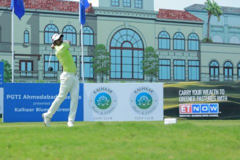 Chikkarangappa and Rashid Khan enjoyed a share of the first round lead