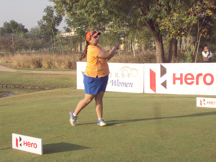 Gursimar Badwal shot 71 in the first round of the 13th leg on the WGAI Hero Women's Pro Golf Tour. Vani Kapoor is lying second with a 72.