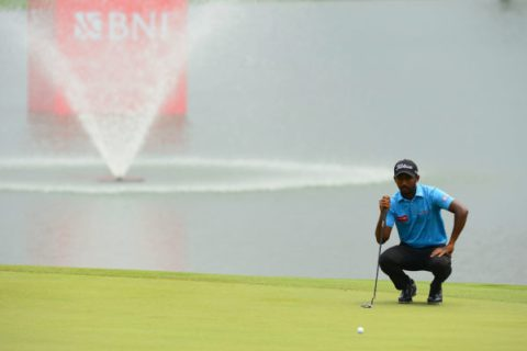 Chikkarangappa is just one shot behind the leaders in Indonesia Masters