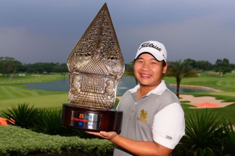 Poom Saksansin trumped a quality field to win the Indonesia Masters