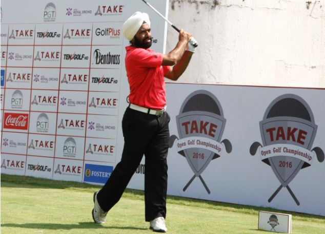 Sujjan Singh - Round 1 Joint Lead