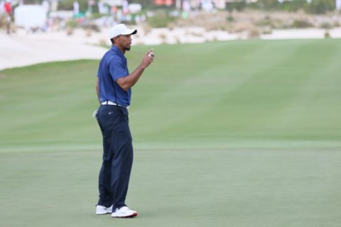 Tiger Woods played out a memorable round of golf in the Hero World Challenge