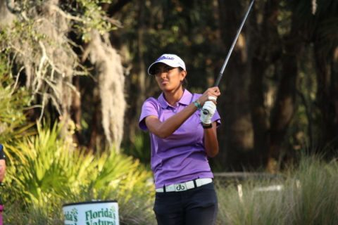 Aditi Ashok at LPGA Q School Final Stage