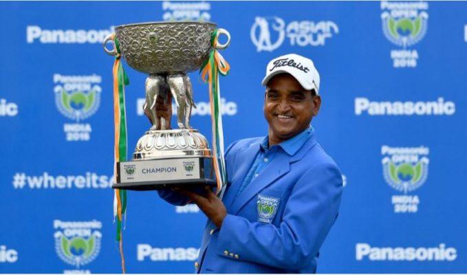 Mukesh Kumar wins Panasonic Open India 2016 Title