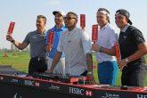 Golfing superstars mix it up in Abu Dhabi - 2017