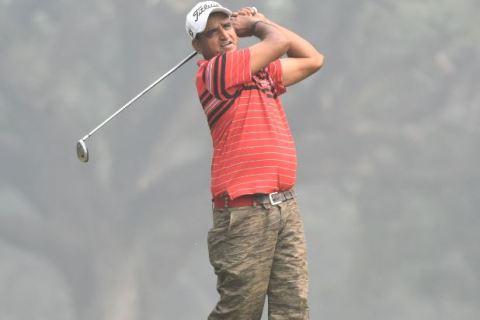 Mukesh Kumar - Round 2 leader
