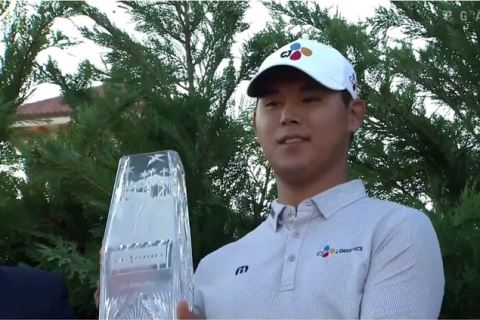 Si Woo Kim wins The Players 2017