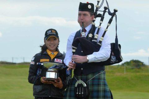 Mi Hyang Lee wins Ladies Scottish Open