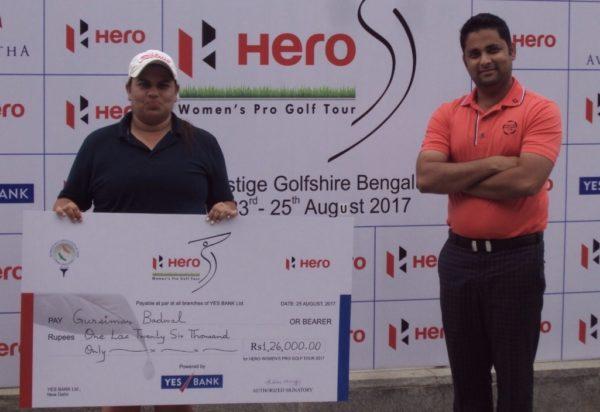 Gursimar Badwal wins ninth leg