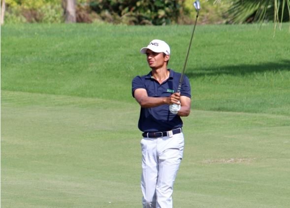Ajeetesh Sandu trails in second place at Rd 3 of TAKE Classic