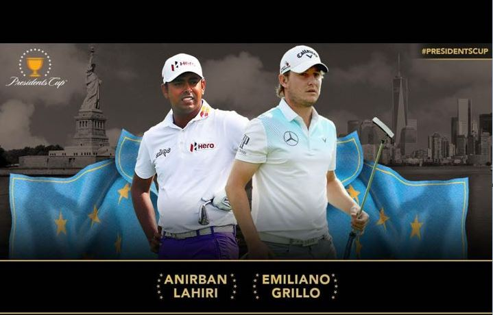 Anirban Lahiri picked as Captain for President's Cup 2017