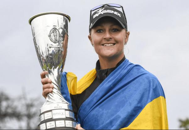 Anna Nordqvist wins Evian Championship