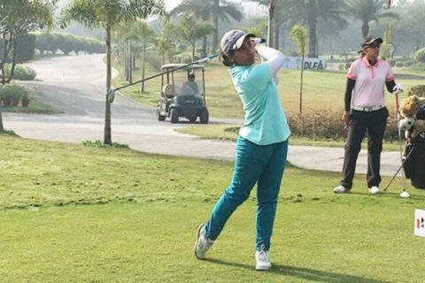 Afshan Fatima shares Rd 2 of Fifth leg of Hero Women's Professional Golf Tour