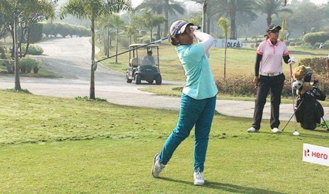 Afshan Fatima shares Rd 2 of Fifth leg of Hero Women's Professional Golf Tour