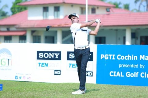 Syed Saqib Ahmed leads Rd 3 of Cochin Masters 2018