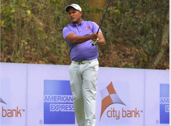 N Thangaraja leads rd 3 with two shots at Chittagong Open
