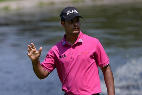 Shubhankar Sharma has shown great character in the third round of the WGC Mexico