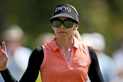 Pernilla Lindberg stays ahead in ANA Inspiration