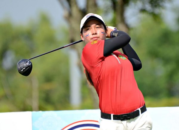 Atthaya Thitikul was the top golfer in the Queen Sirikit Cup