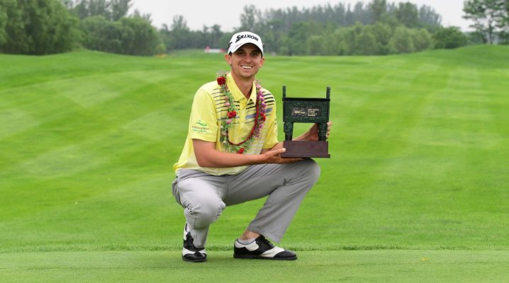 Catlin holds on for victory at the Asia-Pacific Classic