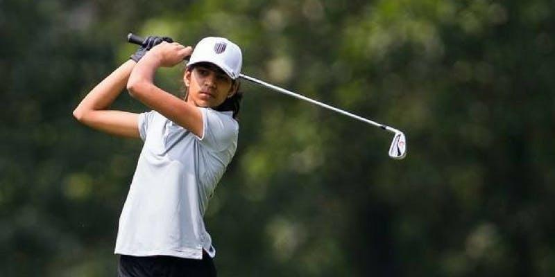 Diksha Dagar played well in the Queen Sirikit Cup