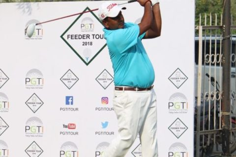 Vishal Singh leads rd 2 of PGTI Feeder Tour