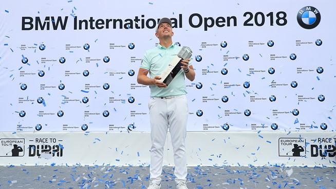 Wallace wins BMW international Open in Germany