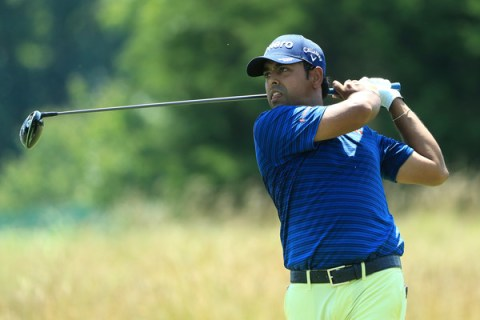 Anirban Lahiri at the Quicken Loans National