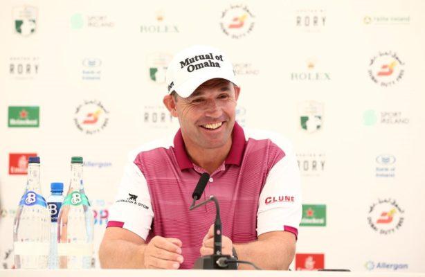 Padraig Harrington returns to his homeland to play Irish Open