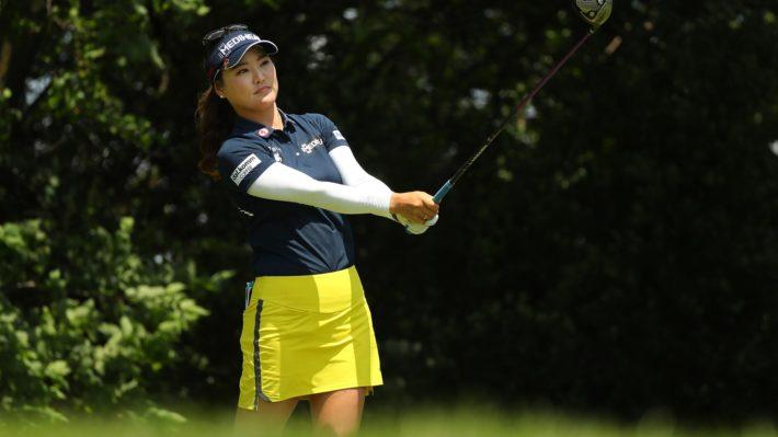 So Yeon Ryu during her third round 67 at the Women's PGA Championship