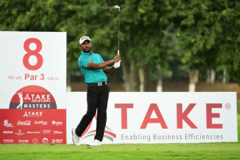 S Chikkarangappa (IND) to join the field at Take Solutions Masters 2018