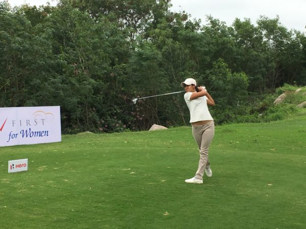 Millie Saroha shares lead with Kushi in the opening round of 11th leg
