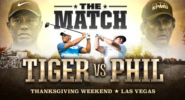 Tiger Woods - Phil Mickelson