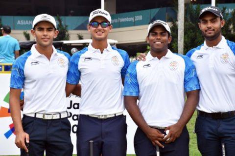Asian Games 2018 Indian Golf Team
