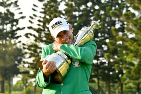 Adilson Da Silva was resolute to the end of the Taiwan Masters