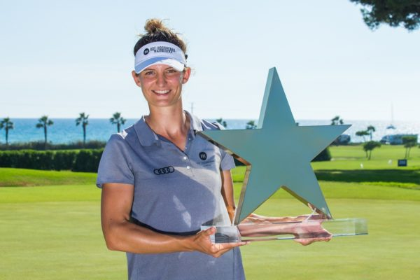 Anne Van Dam with the Mediterranean Ladies Open - LET Image