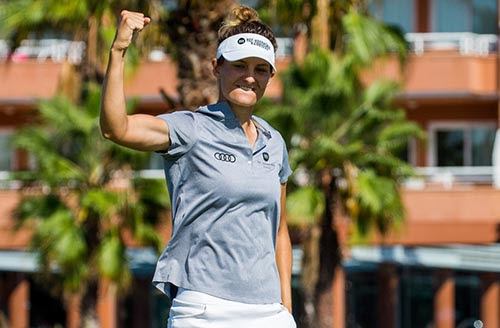 Anne Van Dam wins the Mediterranean Ladies Open - LET Image