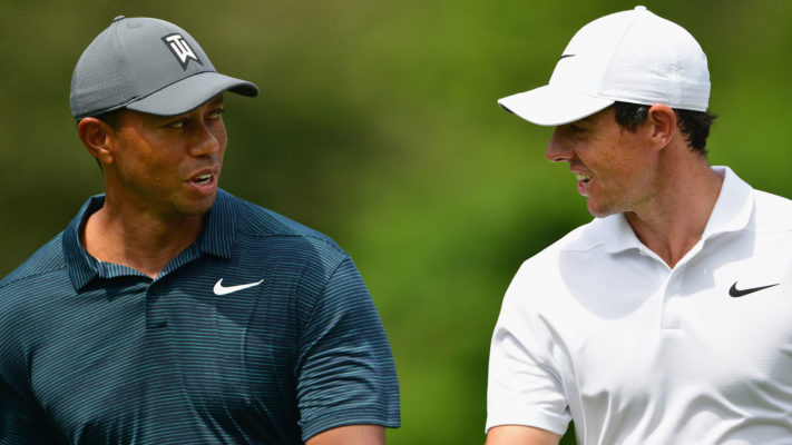 Tiger Woods and Rory McIlroy shares the opening round lead at BMW Championship