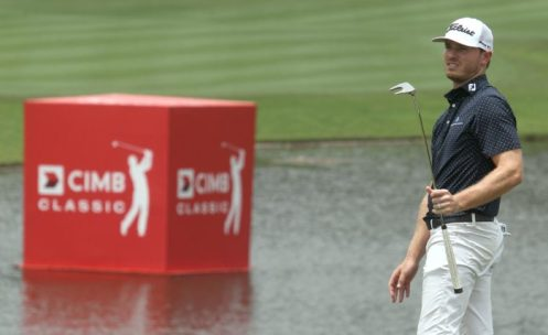 Bronson Burgoon at the CIMB Classic - PGA TOUR Image