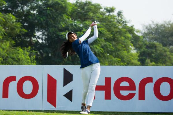 Pranavi Urs shot 71 in the final round of the Hero Women's Indian Open