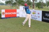 Mohammad Sanju during the second round at Digboi Golf Links