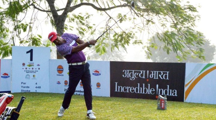 Mohammad Sanju at the Digboi Golf Links